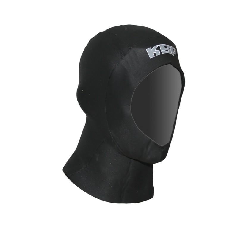 ksp kitesurf cappuccio in neoprene 3 mm cap 01 black