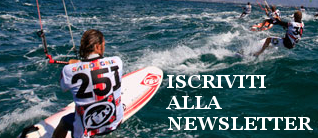 iscriviti alla newslette di sottomarina kite