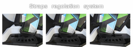 KSP Kitesurf PRO COMBAT Set pads straps regolazione