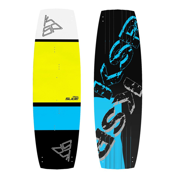 tavola kitesurf freeride ksp slide yellow