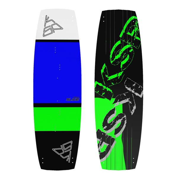 tavola kitesurf freeride ksp slide green