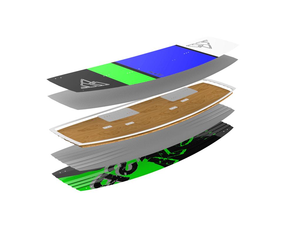 tavola kitesurf freeride ksp slide