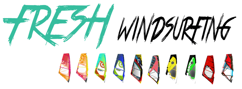 fresh windsurfing