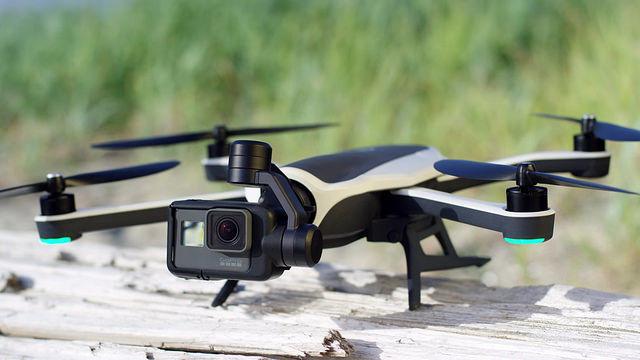 drone go pro karma