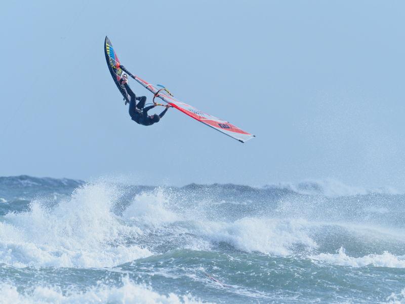 Foto windsurf estremo