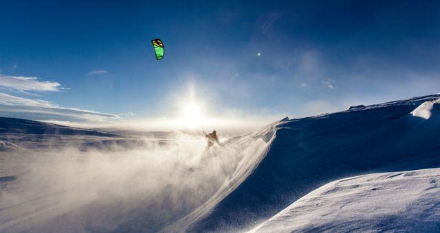 Snowkite dove praticarlo in Italia e quali sono gli spot migliori