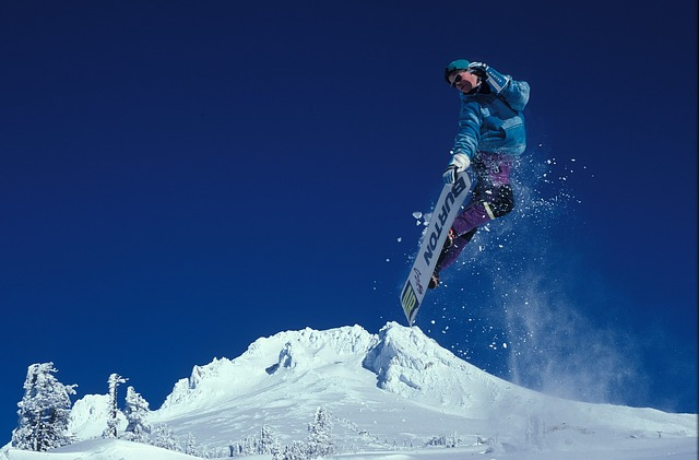 Kitesurf sulla neve